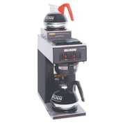 Bunn-O-Matic Coffee Brewer, VP17-2 Pourover with 2 Warmers, Black