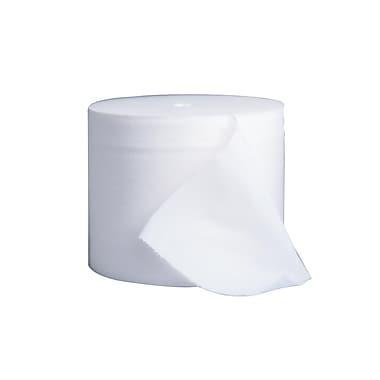 Kleenex CottonelleMD – 07001-01, Rouleaux de papier hygiénique sans mandrin, 3,94 x 4 po, 2 épaisseurs, blanc, bte/36 rouleaux