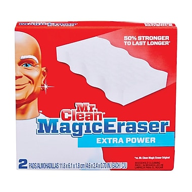 Mr. Clean Magic Eraser Pads, Extra Power, 32/Case