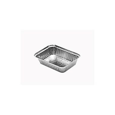 Durable Rectangular Aluminum Foil Pans, 6