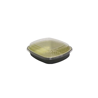 Small Foil Base Container with Dome Lid with Fog-Guard Coating (50/Cs)