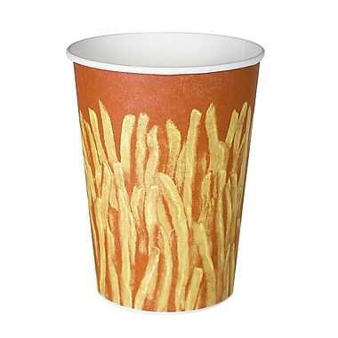 Vita-Glaze Coated Paper French Fry Cup, 32 oz., 500/Case