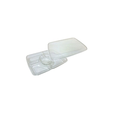 Rectangular Polyethylene Platter with Lid Combo, 14