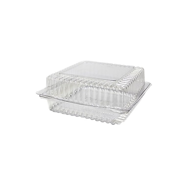 General Bakery Hinged Container with Undercut, 6