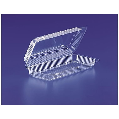 Plastics Clamshell Containers, 13-5/16