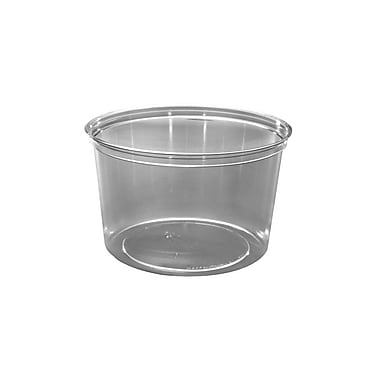 Wilkinson Polyethylene Deli/Fruit Containers, 64 oz., Clear, 240/Case