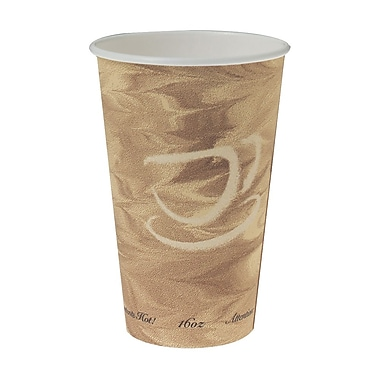 Solo Paper Hot Drink Cup, Mistique Design, 16 oz., 1000/Case