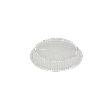 Polystyrene Dome Lid for 527-30 Container, Clear, 250/Pack, 500/Case