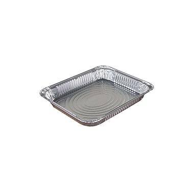 Pactiv Half Size Foil Steam Table Pan, Shallow, 100/Case