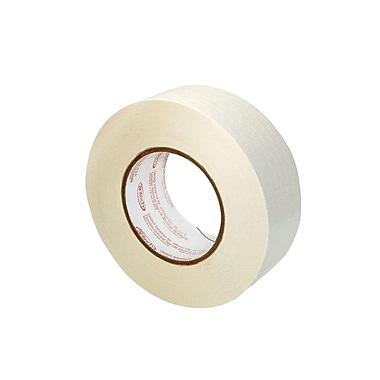Canadian Technical Flatback Splicing Tape, 48mm x 33 m, White, 24/Case