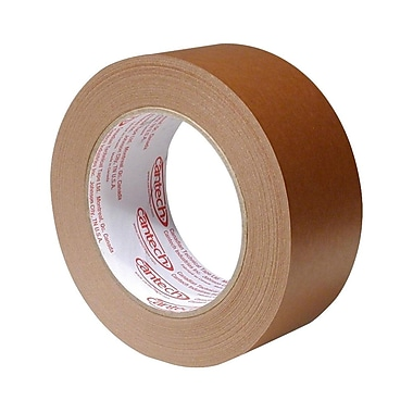 Canadian Technical Flatback Box Sealing Tape, 96 mm x 55 m, 12/Case
