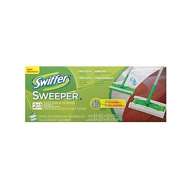 Swiffer 1 Sweeper and 8 Clothes Duster Kit, 3 Kits/Case