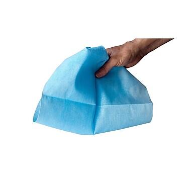 Chicopee – Lingettes Chix en poly/rayonne à faible peluchage, 13 1/2 x 21 po, 800 par boîte