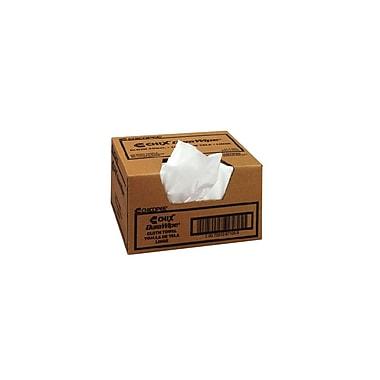 Chicopee – Chiffons Chix Durawipe, 11 3/4 x 13 1/2 po, blanc, boîte/400