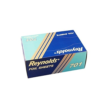 Reynolds 701 Interfold Aluminum Foil Sheets, 8