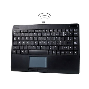 Adesso® Wireless RF Touchpad Keyboard ,Black