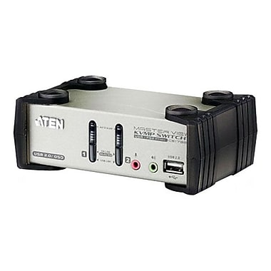 Aten® 2 Port-USB KVMP Switch With OSD