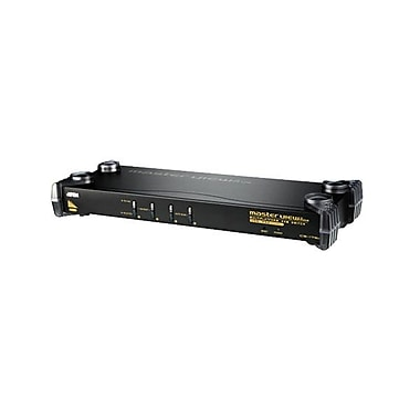 Aten® 4 Port PS/2-USB KVM Switch