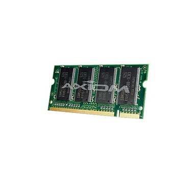 Axiom 1GB DDR SDRAM 333MHz (PC 2700) 200-Pin SoDIMM (A0743530-AX) for Latitude D400