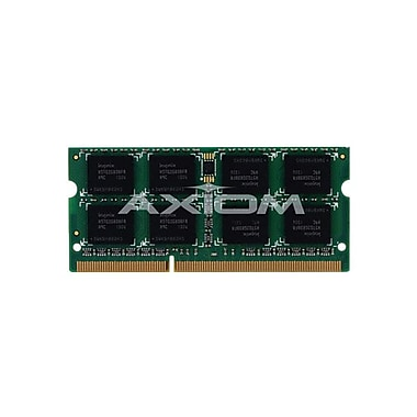 Axiom 8GB DDR3 SDRAM 1333MHz (PC3 10600) 204-Pin SoDIMM (55Y3718-AX) for B590 Series