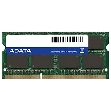 ADATA — 8 Go de mémoire DDR3 à 1600 MHz (PC3 12800) SO-DIMM à 204 broches (AD3S1600W8G11-2)