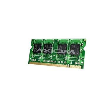 Axiom – Mémoire DDR2 SDRAM de 2 Go 667 MHz (PC2 5300) SoDIMM à 200 broches (CF-WMBA602G-AX) pour Toughbook 19 Mk3 CF-19