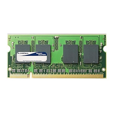 Axiom 2GB DDR SDRAM 800MHz (PC2 6400) 200-Pin SoDIMM (PA3669U-1M2G-AX) for Toshiba Nb250