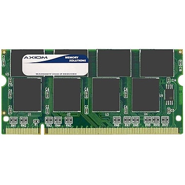Axiom 1GB DDR SDRAM 266MHz (PC 2100) 200-Pin SoDIMM (KTT3614/1G-AX) for Dynabook Ax/2525