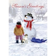 Christmas Cards, Christmas Greetings from Canada, 18/Pack