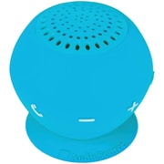 AudioSource® Sound pOp 2 Water-Resistant Bluetooth Speaker, Blue