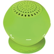 AudioSource® Sound pOp 2 Water-Resistant Bluetooth Speaker, Green