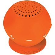 AudioSource® Sound pOp 2 Water-Resistant Bluetooth Speaker, Orange
