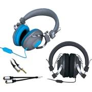 i.Sound® 6377 Headphone Buddy Pack, Black/Blue