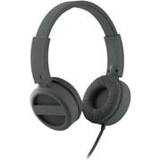 iHome® IB34 Rubberized Headphone, Gunmetal Gray