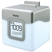 iHome® Color Changing LED Dual Alarm Clock Radio Speaker System With USB Charging