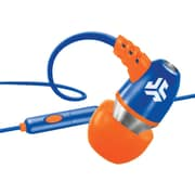 jlab® JBuds® NEON Earbuds With Microphone, Blue/Orange