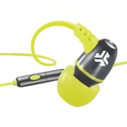 jlab® JBuds® NEON Earbuds With Microphone, Gray/Yellow