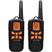 Olympia® R500 42-Mile 2-Way Radio, Black/Yellow