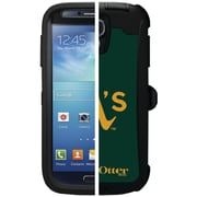 OtterBox® MLB Edition Defender Series Case W/Holster F/Samsung Galaxy S4, Oakland As