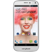 Verykool S505 Spark Unlocked Cell Phone With 5 LCD Touchscreen, White