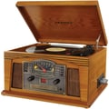 Crosley Radio CR42C Lancaster Musician Entertainment Center, Oak