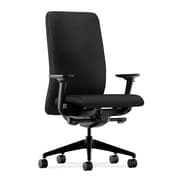 HON® HONN104CU10 Nucleus® Fabric Office Chair with Adjustable Arms, Black
