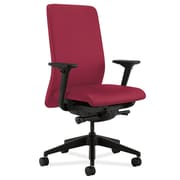HON® HONN104NR60 Nucleus® Fabric Office Chair with Adjustable Arms, Mulberry