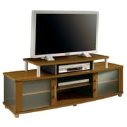 South Shore™ City Life 23 x 60 x 20 TV Stand With Glass Doors, Morgan Cherry
