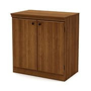 "South Shore™ Morgan 32"" Laminated Particleboard Storage Cabinet, Morgan Cherry"