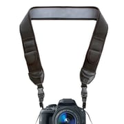 USA Gear Adjustable Anti-Slip Neoprene Cushion & Storage Pockets GRCMMS0100BKEW Camera Strap