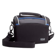 USA Gear Digital Camera Bag GRQLQIL100BKEW with Adjustable Sling