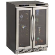 Avanti® 19 Bottles Dual Zone Wine/Beverage Cooler, Black