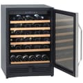 Avanti® 50 Bottles Wine Chiller, Black