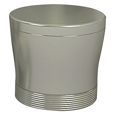 NU Steel Special Cotton Swab Container; Pewter